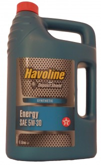 Mоторное масло TEXACO Havoline Energy SAE 5W-30 (5л)