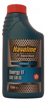 Mоторное масло TEXACO Havoline Energy  EF SAE 5W-30 (1л)