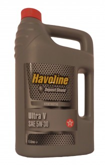 Mоторное масло TEXACO  Havoline Ultra V SAE 5W-30 (5л)