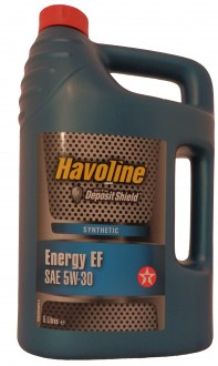 Mоторное масло TEXACO Havoline Energy  EF SAE 5W-30 (5л)