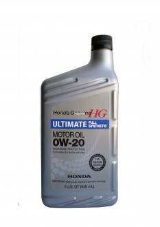 Моторное масло HONDA Ultimate Full Synthetic SAE 0W-20 (0,946л)