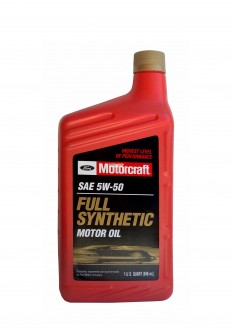 Моторное масло FORD Motorcraft SAE 5W-50 Full Synthetic Motor Oil (0,946л)