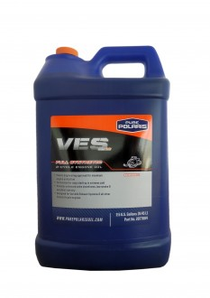 Моторное масло для 2Т двигателей PURE POLARIS VES Full Synthetic 2-Cycle Engine Oil (9,460л)