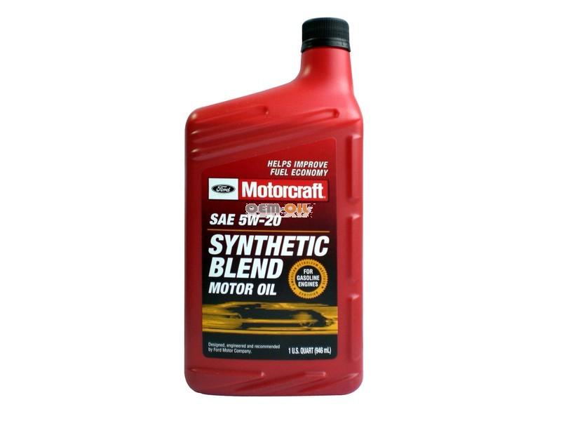 Oem for Motorcraft synthetic blend motor oil